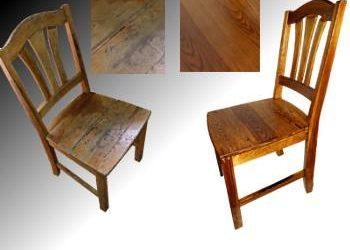 Zdjecie krzesel sosnowych