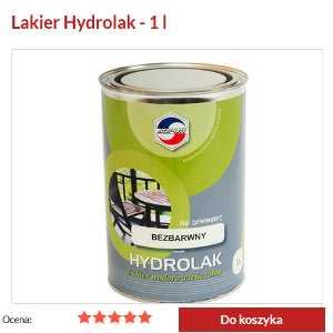 Zdjecie lakieru akrylowego hydrolak